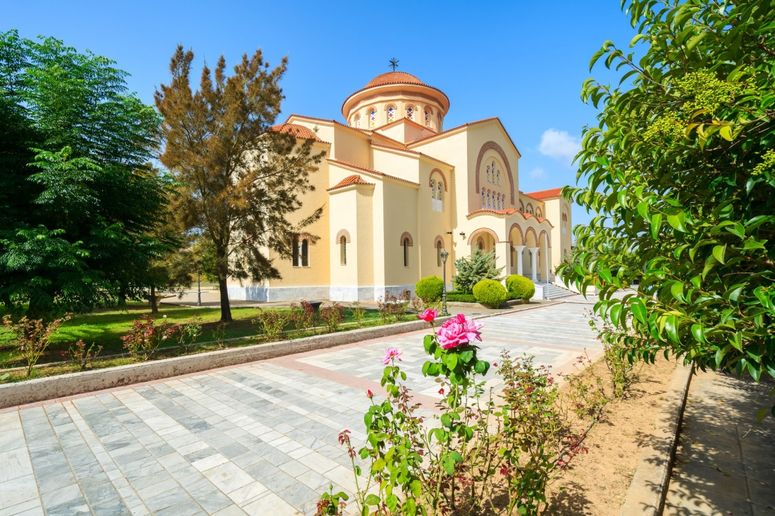 'Monastery of Agios Gerasimos on Kefalonia island, Greece' - Κεφαλονιά